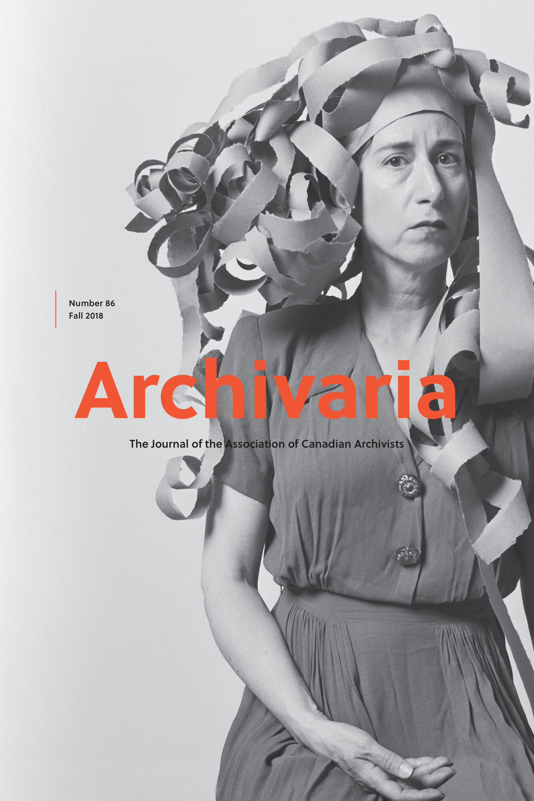Archivaria 86 cover